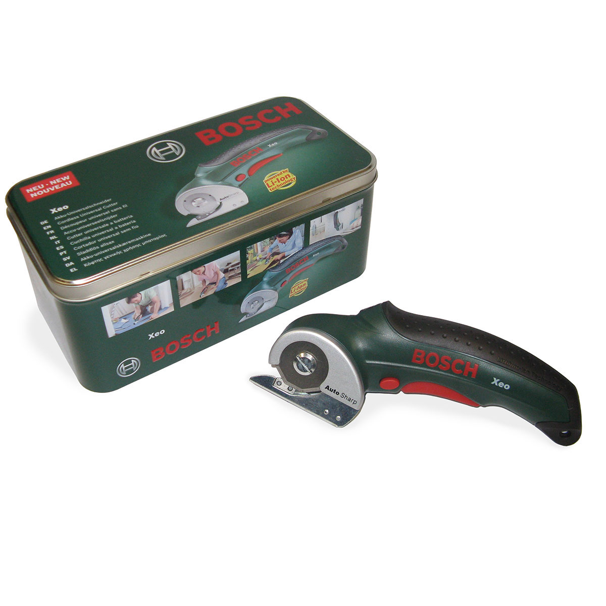 battery powered foil cutter