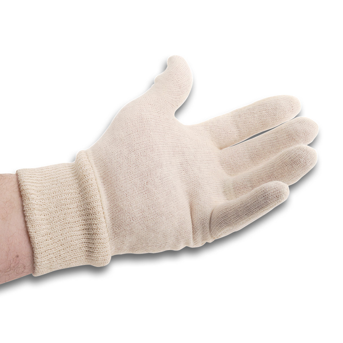 cleanroom whitetricot gloves