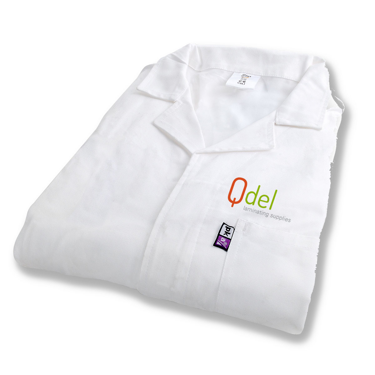 dust coat antistatic with print size 54 qdel