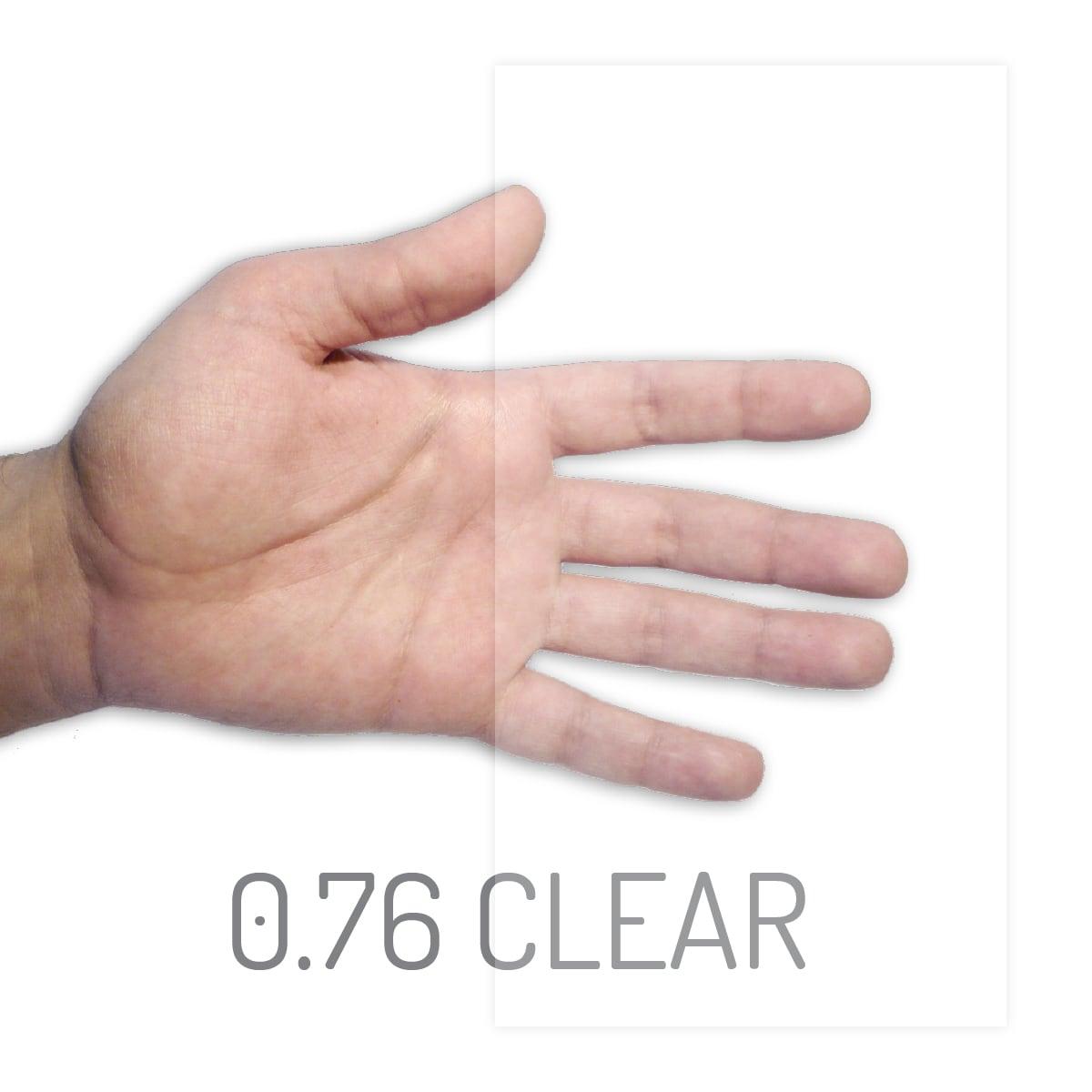 eva evguard clear 076mm x 1100mm x 60 meter 66m