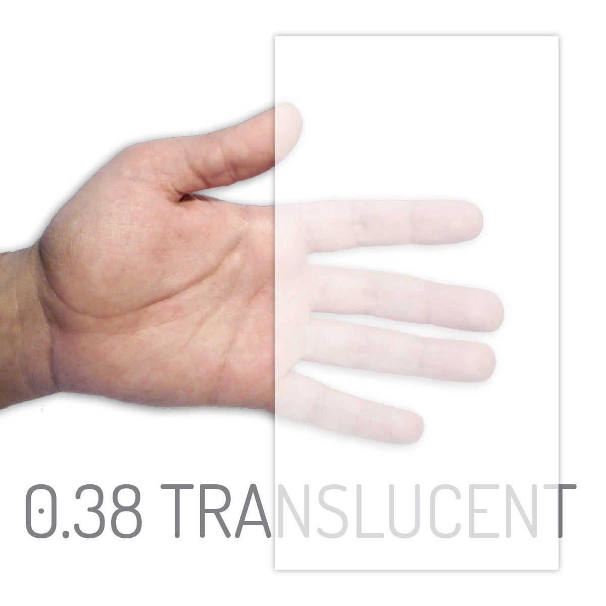 eva white translucent 038mm x 2000mm