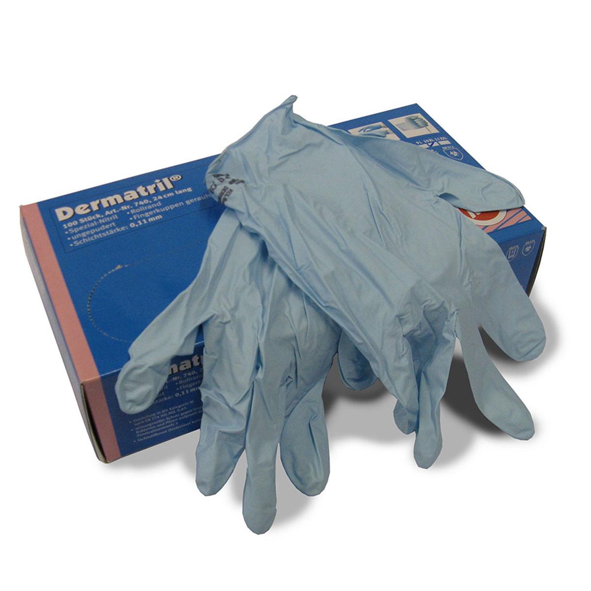handschuhe latex gr l