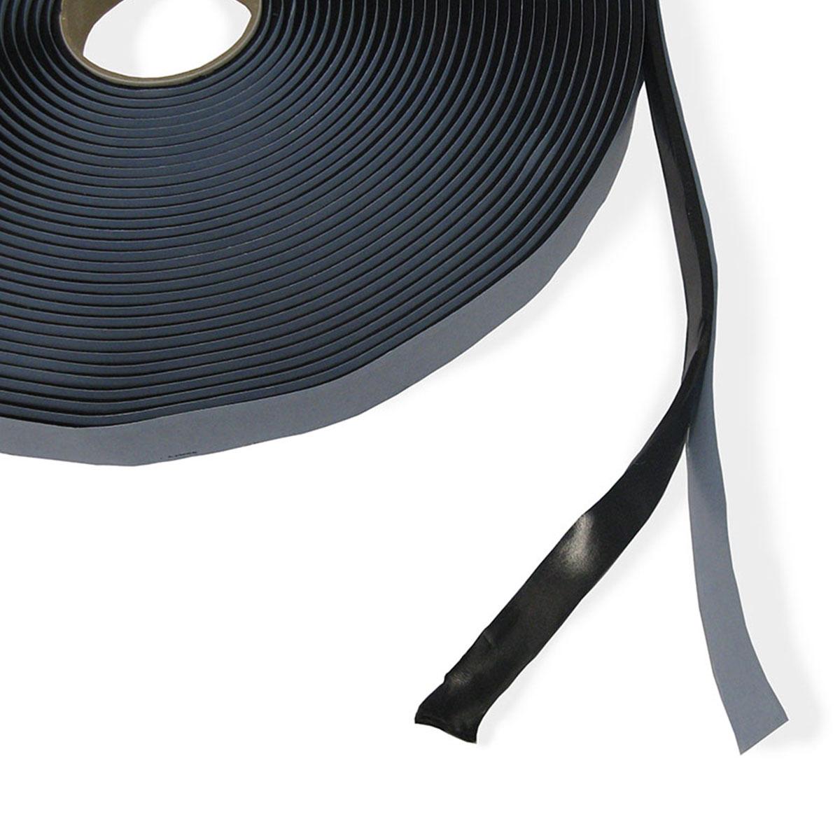 tape heat resistant black 3mm x 12mm x 15metres