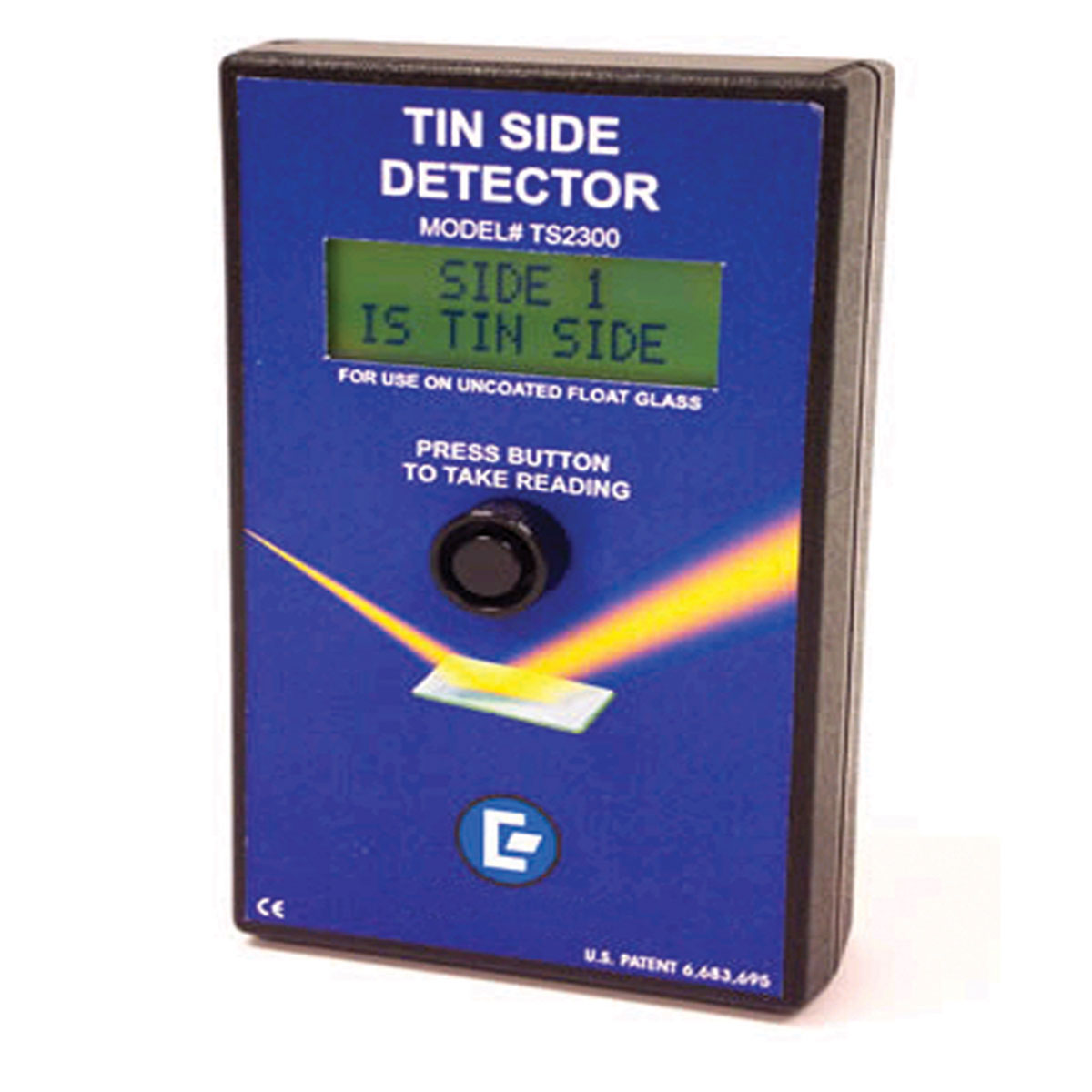 tin side detector for float glass