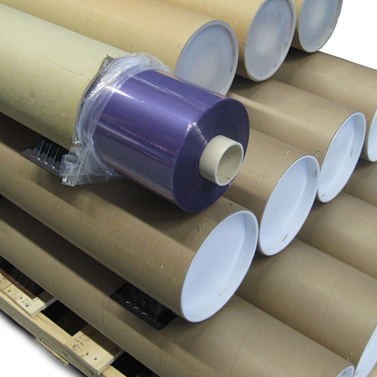 vacuum bag nylon 2300 purple 0076mm x 2300mm 42366m 0003 x 90